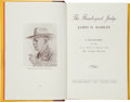 Books:Signed Editions, J. Evetts Haley and William Curry Holden. The Flamboyant Judge: James D. Hamlin. A Biography as Told to J. Evetts Haley ...