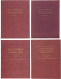 Books:Signed Editions, [Albert O. Rhoad, editor]. Santa Gertrudis Breeder InternationalRecorded Herds, Three Volumes with a Supplement t... (Total: 4Items)