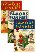 Golden Age (1938-1955):Miscellaneous, Famous Funnies Group (Eastern Color, 1948-50) Condition: Average VF/NM.... (Total: 8 Comic Books)
