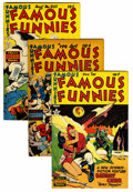 Golden Age (1938-1955):Miscellaneous, Famous Funnies Group (Eastern Color, 1950-53) Condition: Average VF/NM.... (Total: 9 Comic Books)
