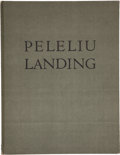 Books:Signed Editions, Tom Lea. Peleliu Landing. El Paso: Carl Hertzog, 1945....