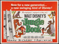 "Movie Posters:Animated, The Jungle Book (Buena Vista, 1967). British Quad (30"" X 40""). Animated.. ..."