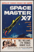 "Movie Posters:Science Fiction, Space Master X-7 (20th Century Fox, 1958). One Sheet (27"" X 41"").Science Fiction.. ..."