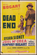 """Movie Posters:Crime, Dead End (Film Classics, R-1944). One Sheet (27"""" X 41""""). Crime....."""