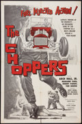 "Movie Posters:Exploitation, The Choppers (Fairway International, 1961). One Sheet (27"" X 41""). Exploitation.. ..."