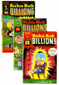Bronze Age (1970-1979):Cartoon Character, Richie Rich Billions #1-48 Multiple File Copies Group (Harvey,1974-82) Condition: Average NM-.... (Total: 98 Comic Books)