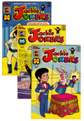 Bronze Age (1970-1979):Cartoon Character, Richie Rich and Jackie Jokers - Multiple File Copies Group (Harvey, 1973-82) Condition: Average NM-.... (Total: 111 Comic Books)