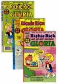Bronze Age (1970-1979):Cartoon Character, Richie Rich and Gloria Multiple File Copies Group (Harvey, 1977-82)Condition: Average NM-.... (Total: 65 Comic Books)