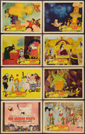 "Movie Posters:Animated, 1001 Arabian Nights (Columbia, 1959). Lobby Card Set of 8 (11"" X14""). Animated.. ... (Total: 8 Items)"