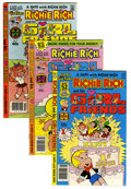 Bronze Age (1970-1979):Cartoon Character, Richie Rich and His Girlfriends #1-16 Multiple File Copies Group(Harvey, 1979-82) Condition: Average NM-.... (Total: 36 ComicBooks)