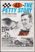 """Movie Posters:Sports, 43 -- The Richard Petty Story (Country Wide, 1974). One Sheet (27"""" X 41""""). Sports.. ..."""