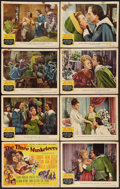 "Movie Posters:Swashbuckler, The Three Musketeers (MGM, 1948). Lobby Card Set of 8 (11"" X 14""). Swashbuckler.. ... (Total: 8 Items)"
