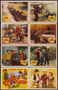 """Movie Posters:Western, Spoilers of the Plains (Republic, 1951). Lobby Card Set of 8 (11"""" X 14""""). Western.. ... (Total: 8 Items)"""