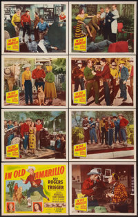 """In Old Amarillo (Republic, 1951). Lobby Card Set of 8 (11"""" X 14""""). Western. ... (Total: 8 Items)"""