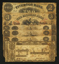 Obsoletes By State:Rhode Island, Mixed Lot of Well Circulated Rhode Island Obsoletes. Six Examples.. ... (Total: 6 notes)