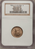 Civil War Patriotics, 1864 Token Our Navy Token MS67 NGC. F-42/336 D....
