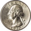 Washington Quarters: , 1937 25C Doubled Die Obverse AU58 PCGS. Strong doubling is seen onIN GOD WE TRUST and on the date. The Third Edition (1994...