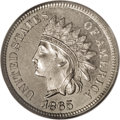 Patterns: , 1865 1C One Cent, Judd-406, Pollock-475, Low R.6, PR66 PCGS. Fancy5. The regular-issue Indian Head cent, here struck in ni...