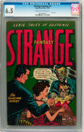 Golden Age (1938-1955):Horror, Strange Fantasy #3 (Farrell, 1952) CGC FN+ 6.5 Cream to off-whitepages....