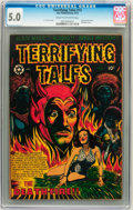 Golden Age (1938-1955):Horror, Terrifying Tales #13 (Star Publications, 1953) CGC VG/FN 5.0 Creamto off-white pages....