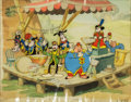 Animation Art:Production Cel, Mickey Mouse The Band Concert Production Cel Animation Art (Walt Disney, 1935)....
