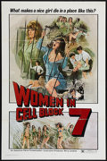 "Movie Posters:Sexploitation, Women in Cell Block 7 (Aquarius Releasing, 1974). One Sheet (27"" X41""). Sexploitation.. ..."