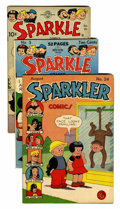 Golden Age (1938-1955):Humor, Sparkle Comics/Sparkler Comics Group (United Features Syndicate, 1943-53) Condition: Average VG+.... (Total: 9 Comic Books)