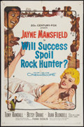 "Movie Posters:Comedy, Will Success Spoil Rock Hunter? (20th Century Fox, 1957). One Sheet (27"" X 41"") and Lobby Cards (2) (11"" X 14""). Comedy.. ... (Total: 3 Items)"