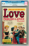 Golden Age (1938-1955):Romance, True Love Problems and Advice Illustrated #4 File Copy (Harvey, 1949) CGC NM 9.4 Cream to off-white pages....
