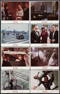 """A View to a Kill (United Artists, 1985). Lobby Card Set of 8 (11"""" X 14""""). James Bond. ... (Total: 8 Items)"""
