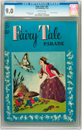 Golden Age (1938-1955):Funny Animal, Four Color #87 Fairy Tale Parade (Dell, 1945) CGC VF/NM 9.0Off-white pages....
