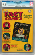 Golden Age (1938-1955):Non-Fiction, Real Fact Comics #3 Salida pedigree (DC, 1946) CGC NM- 9.2 Whitepages....