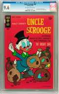 Bronze Age (1970-1979):Cartoon Character, Uncle Scrooge #88 (Gold Key, 1970) CGC NM+ 9.6 Off-white to whitepages....