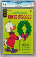 Bronze Age (1970-1979):Cartoon Character, Uncle Scrooge #90 (Gold Key, 1970) CGC NM+ 9.6 Off-white to whitepages....