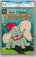 Golden Age (1938-1955):Funny Animal, Four Color #668 Dumbo (Dell, 1955) CGC NM 9.4 Off-white pages....