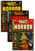Golden Age (1938-1955):Horror, Vault of Horror Group (EC, 1953-54) Condition: Average VG....(Total: 9 Comic Books)