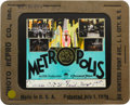 "Movie Posters:Science Fiction, Metropolis (UFA, 1927). Glass Slide (3.25"" X 4"").. ..."