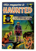 Golden Age (1938-1955):Horror, This Magazine Is Haunted #2 (Fawcett, 1951) Condition: FN/VF....