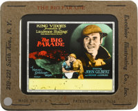 "The Big Parade Lot (MGM, 1925). Glass Slides (2) (3.25"" X 4""). ... (Total: 2 Items)"