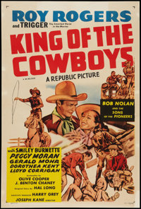 "King of the Cowboys (Republic, R-1955). One Sheet (27"" X 41""). Western"