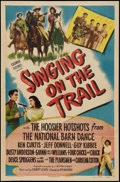 """Movie Posters:Western, Singing on the Trail (Columbia, 1946). One Sheet (27"""" X 41""""). Western.. ..."""