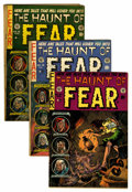 Golden Age (1938-1955):Horror, Haunt of Fear Group (EC, 1952-54) Condition: Average GD/VG....(Total: 11 Comic Books)