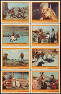 """Movie Posters:Western, Cheyenne Autumn (Warner Brothers, 1964). Lobby Card Set of 8 (11"""" X 14""""). Western.. ... (Total: 8 Items)"""