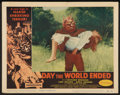 """Movie Posters:Science Fiction, Day the World Ended (American Releasing Corp., 1956). Lobby Card (11"""" X 14""""). Science Fiction.. ..."""
