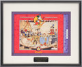 Original Comic Art:Miscellaneous, Disneyana Special Edition Commemorative 1993 ConventionPassport (Disney, 1993)....