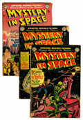 Golden Age (1938-1955):Science Fiction, Mystery in Space Group (DC, 1951-54) Condition: Average GD-....(Total: 10 Comic Books)