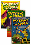 Golden Age (1938-1955):Science Fiction, Mystery in Space Group (DC, 1952-54) Condition: Average GD/VG....(Total: 8 Comic Books)