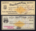 Obsoletes By State:Arizona, Tucson, AZ- Pima County Bank $46 Feb. 19, 1880 Check Fine, CC, edgewear, once wet. Tucson, AZ- Pima County Bank $50... (Total: 2items)
