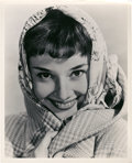 "Movie Posters:Romance, Audrey Hepburn (Paramount, 1950s). Portrait Photo (8"" X 10"").. ..."