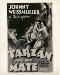 "Movie Posters:Adventure, Tarzan and His Mate (MGM, 1934). Art Photo (8"" X 10"").. ..."